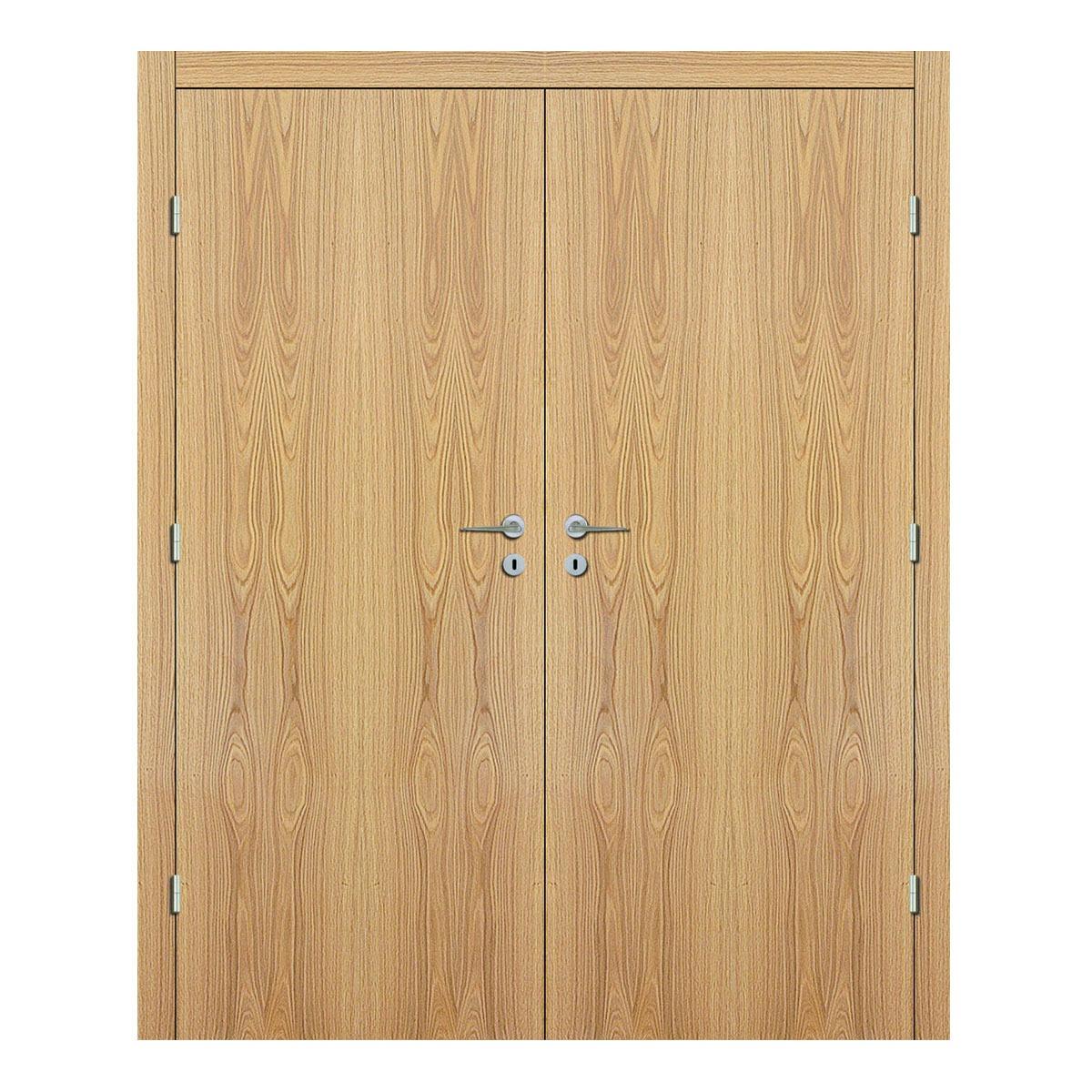 American White Oak Double Door