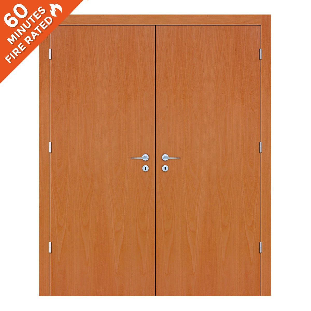 Beech Double Door FD60