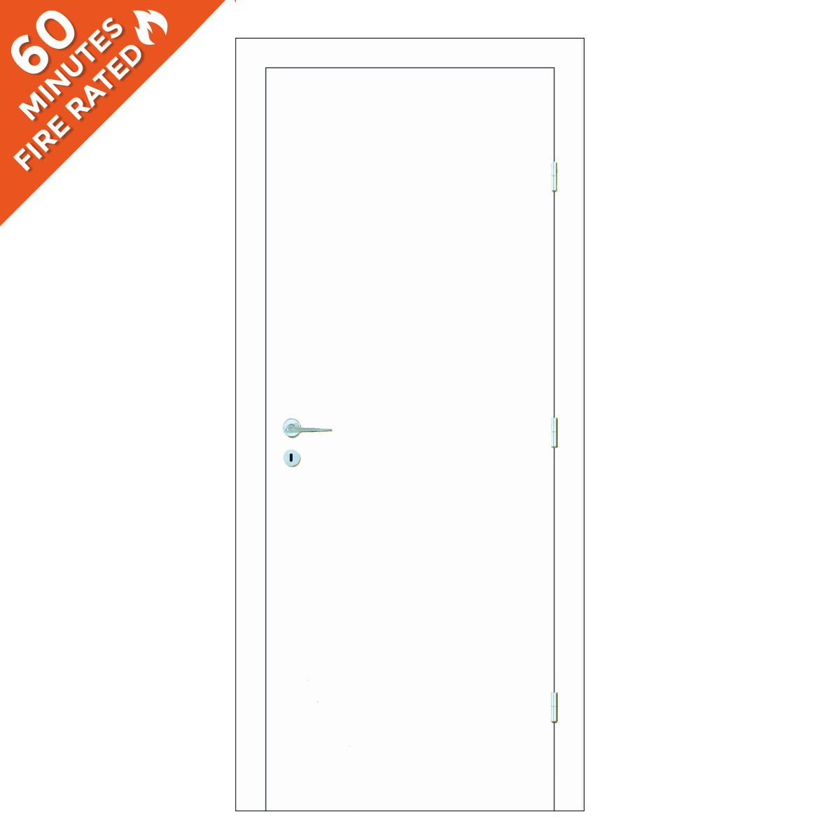 Paint Grade Single Door FD60
