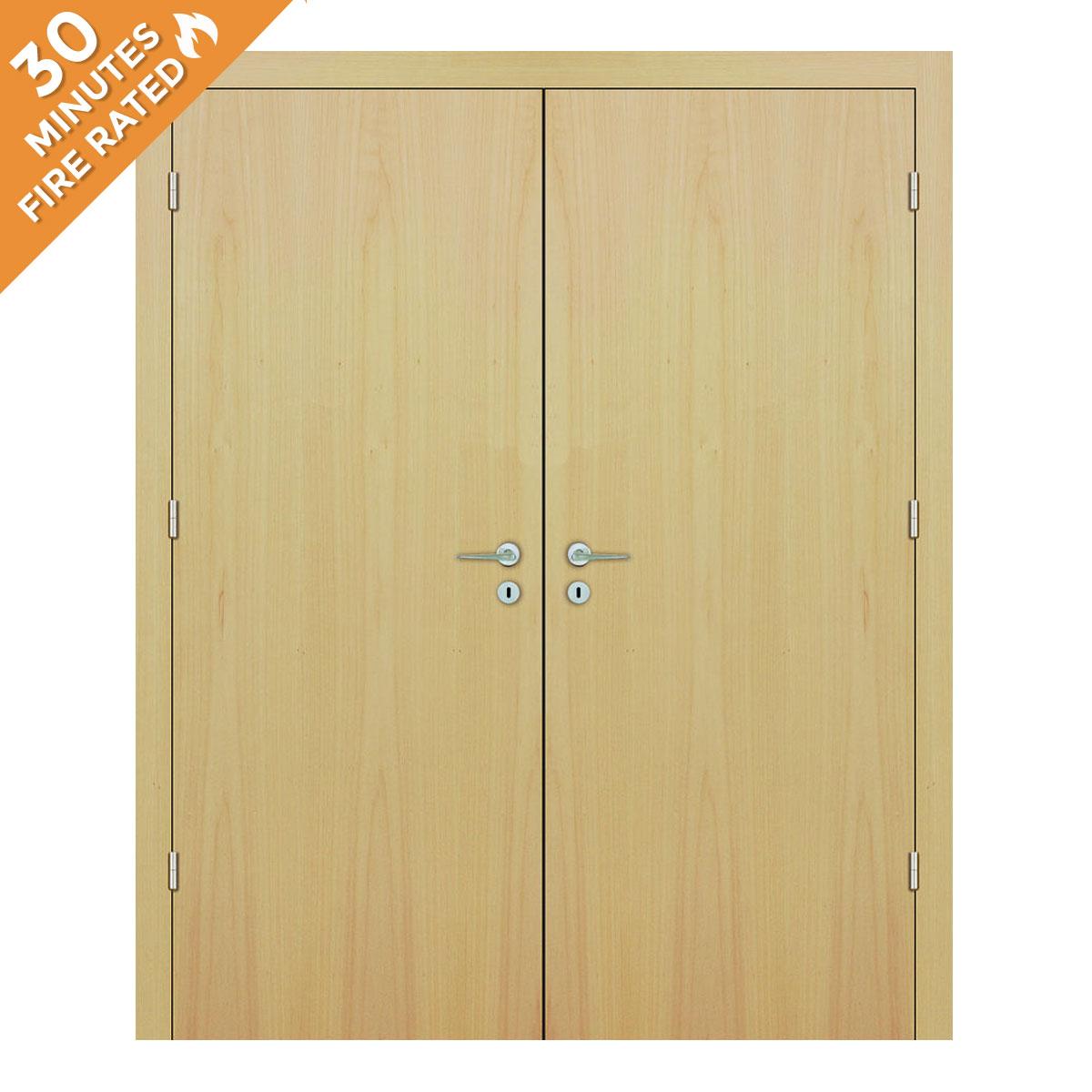 Maple Double Door FD30
