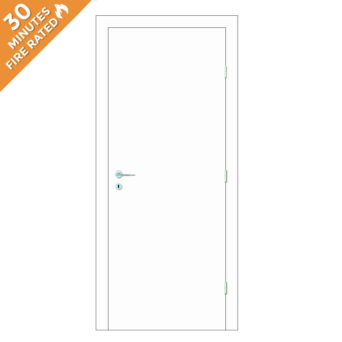 Paint Grade Single Door FD30
