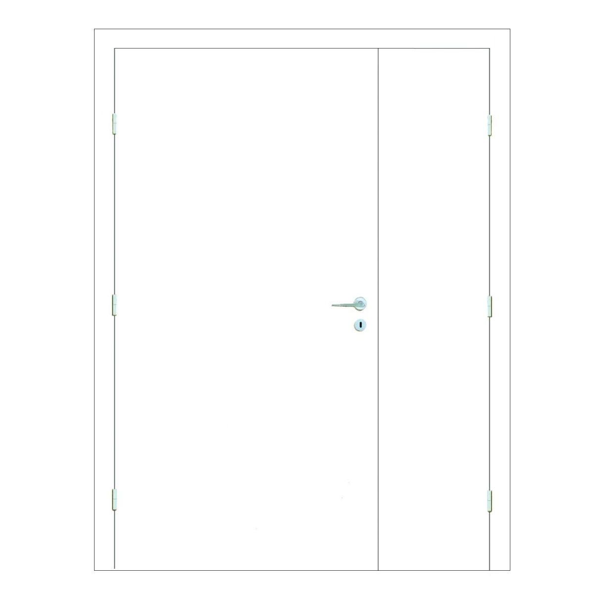 Paint Grade Hospital Doors