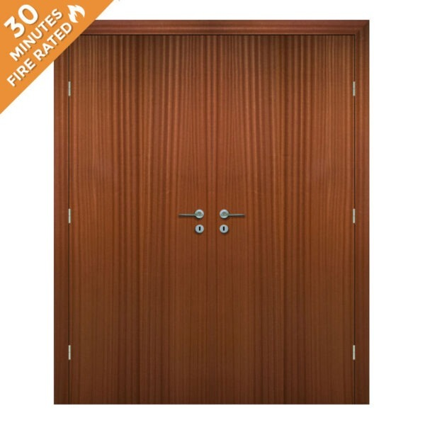 Sapele Double Door FD30