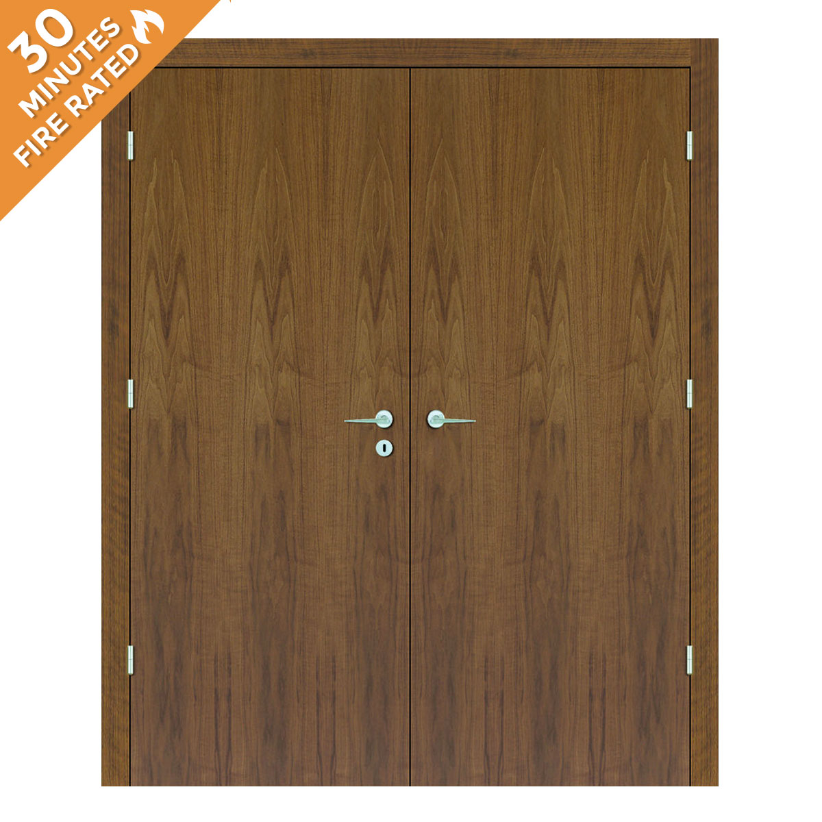 Walnut Double Door FD30
