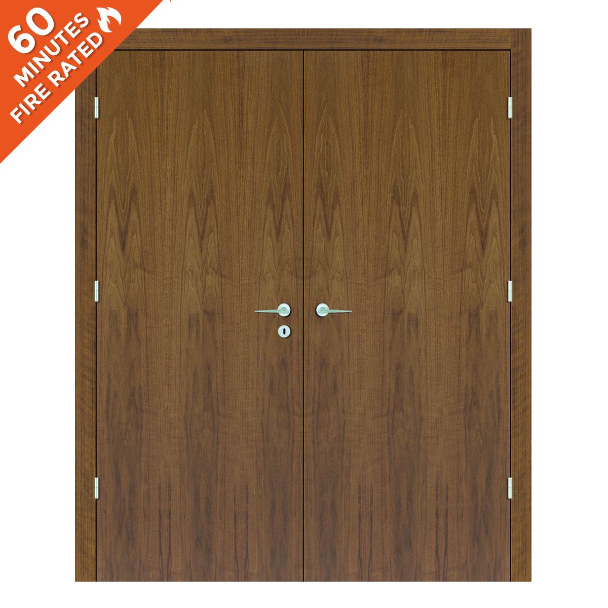 Walnut Double Door FD60