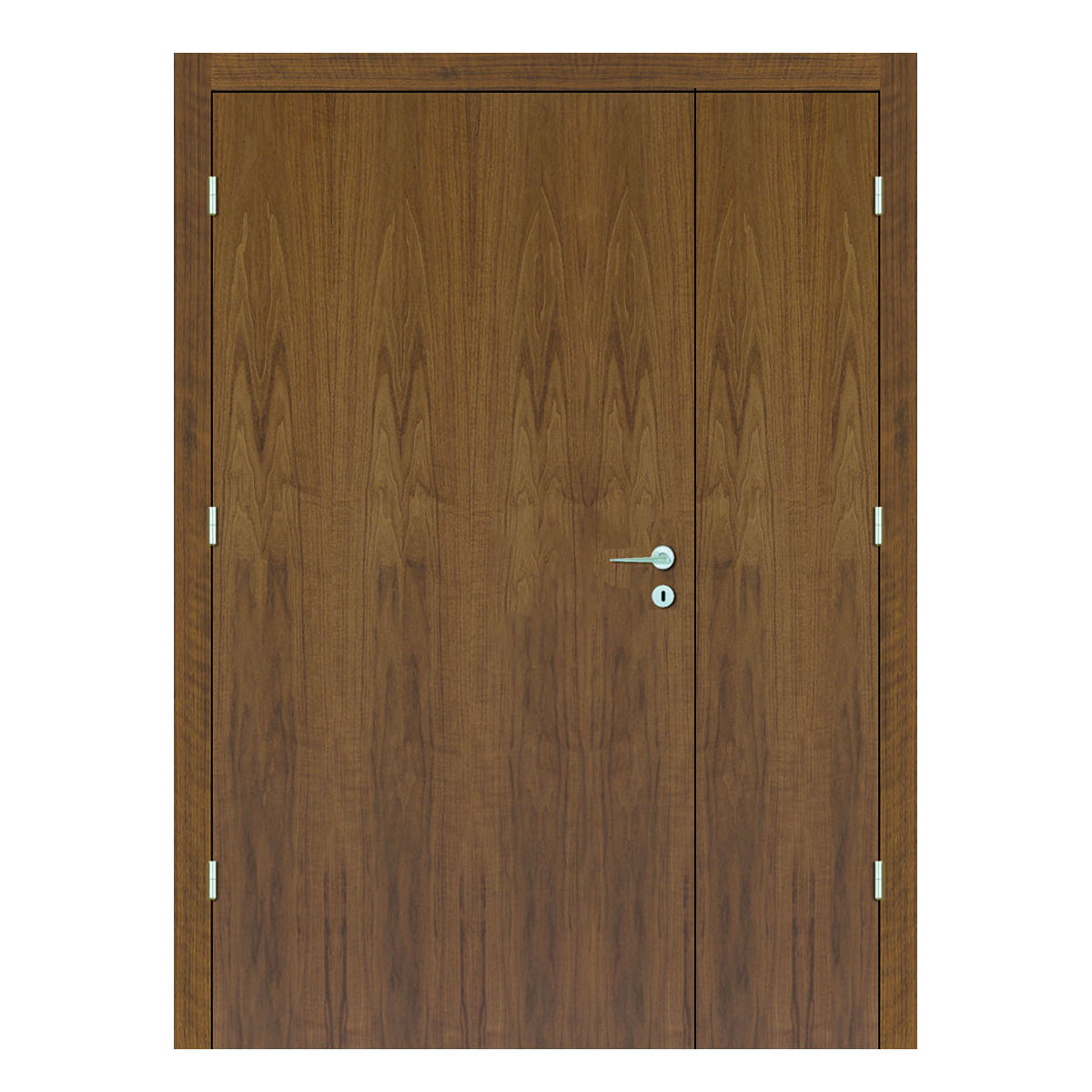 American Walnut Hospital Doors