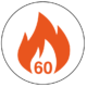 FD60 60 Minute Fire Rated Icon