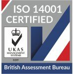 UKAS-Accredited ISO Badge ISO 14001 Accreditation