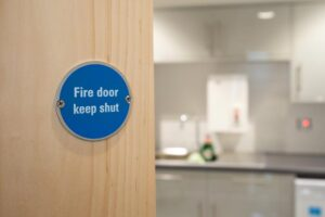 Fire Doors in Commercial Setting