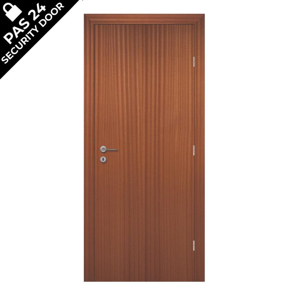 Sapele PAS24 Security Door