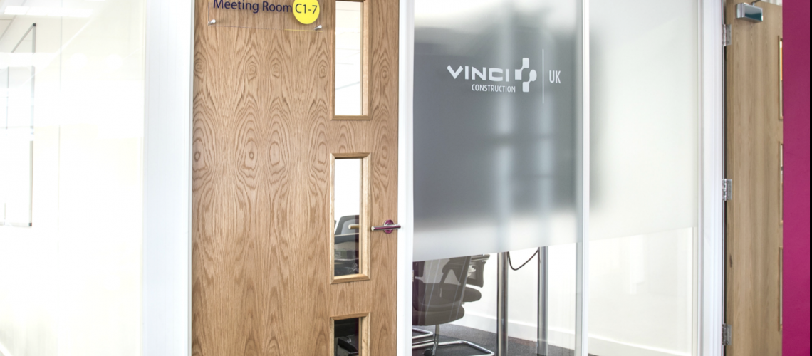 See our previous customer project for DDA compliant Office Doors