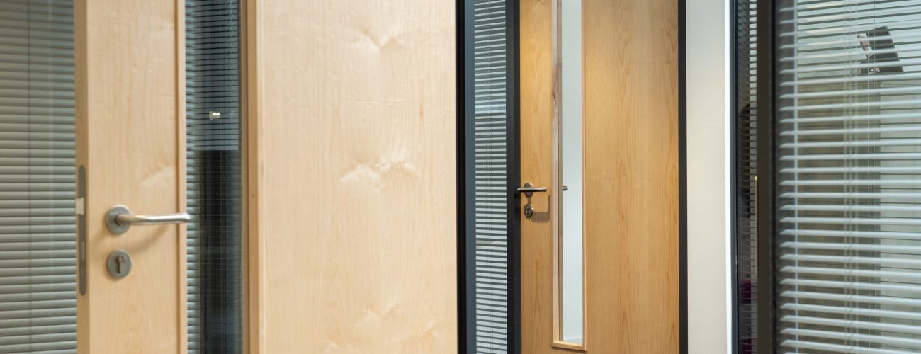 Acoustic Doors in Office
