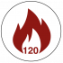 FD120 120 Minute Fire Rated Icon
