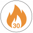 FD30 30 Minute Fire Rated Icon