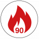FD90 90 Minute Fire Rated Icon