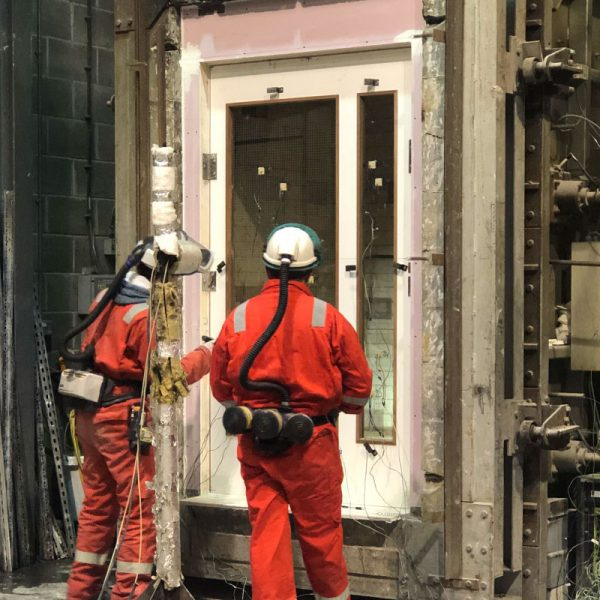 Our Doors & Components undergo rigorously Fire Testing