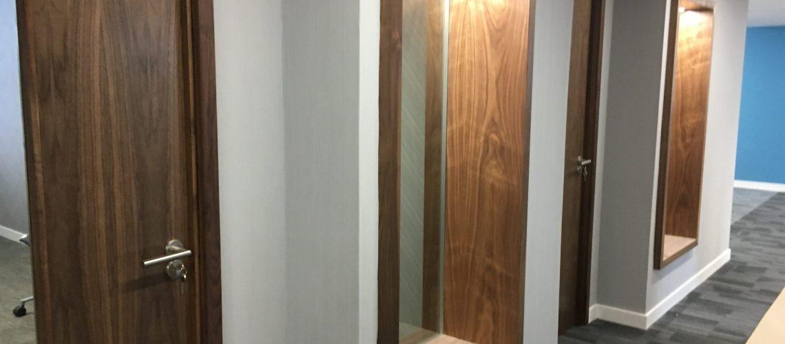 Walnut Veneer doors