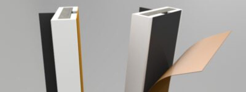 Pyroplex intumescent Single flipper self-adhesive